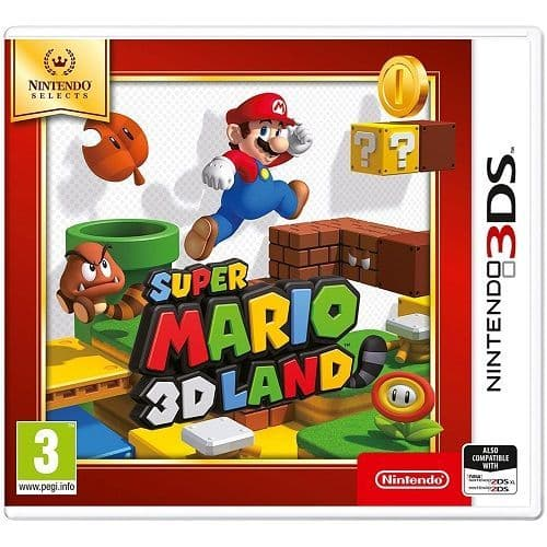 Super Mario 3D Land [Selects] 3DS Game